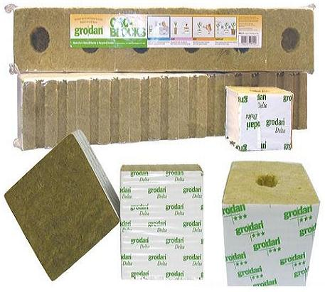 Grodan Rockwool Gro-Blocks