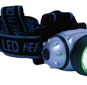 green light headlamp