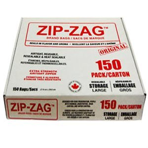 Zip-Zag Storage Bags